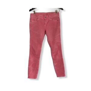 Armani Exchange cropped Jeans pink red size 4